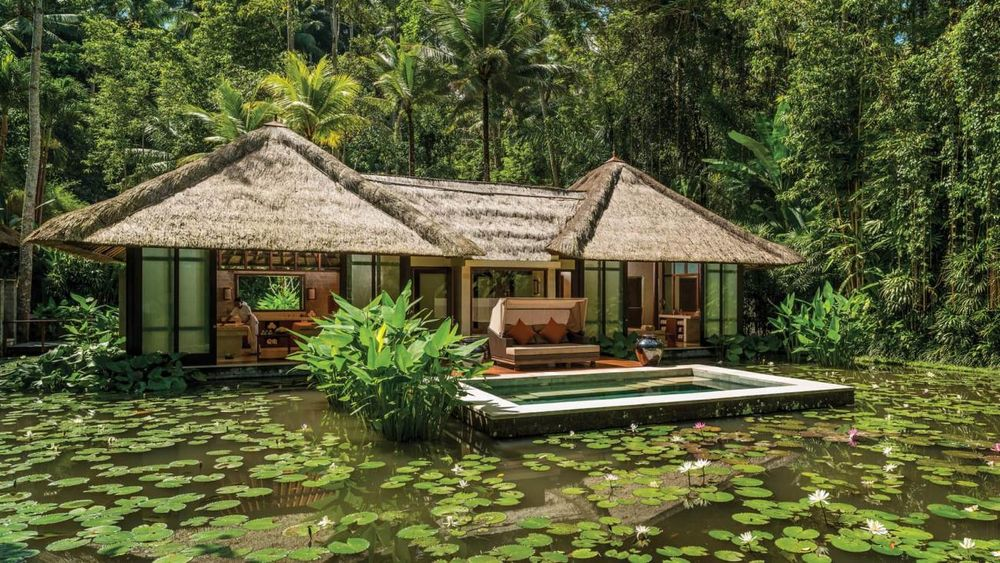 Spa, Four Seasons Bali at Sayan, Ubud, Indonesien Flitterwochen