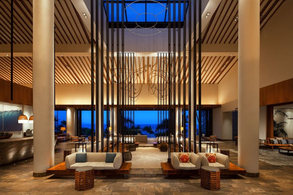 Lobby, Andaz Maui At Wailea Resort, Hawaii Hochzeitsreise, USA Reisen